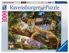 Leopard Family 1000pc - RB19148