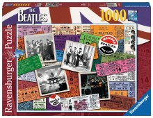 Beatles Tickets 1000pc - RB19751-4
