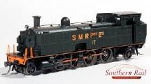 HO Gauge SMR Pty Ltd Black/Orange #17 Locomotive - SMR1003