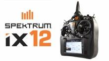 iX12 12ch Android Based DSMX Radio Transmitter - SPM12000AU1