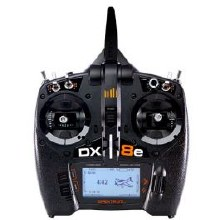Spektrum DX8e Transmitter Only - SPMR8105
