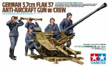 1:35 Scale German 3.7cm FLAK37 Anti-Aircraft Gun With Crew - T35302