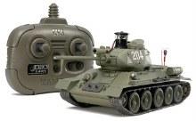 1:35 Russian Medium Tank T-34-85 (w/2.4GHz Control Unit) Assembly Kit - 48210