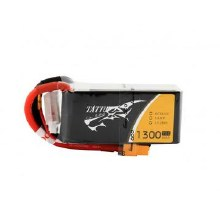 4s 1300mAh 14.8v 75c w/XT60 Plug