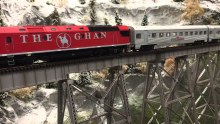 HO Gauge The Ghan Box Train Pack - TGSET