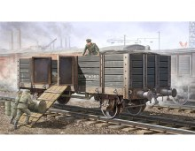 1:35 Scale German Railway Gondola (High Sides) - 01517