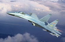 1:144 Scale PLAAF J-11B Fighter - TR03915