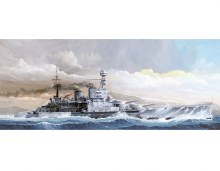 1:350 Scale HMS Repulse 1941- TR05312