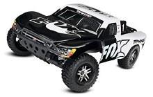 1:10 Traxxas Slash 2WD VXL w/TSM (Fox) - 58076-4FOX