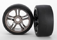 Tyres & Wheels, Assembled, Glued, Rear - 6477