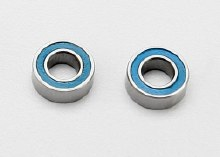 Ball Bearings, Blue Rubber Sealed, 4x8x3mm - 7019
