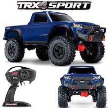 1:10 TRX-4 Sport Scale Crawler w/2.4GHz TQ Radio RTR (Blue) - 82024-4