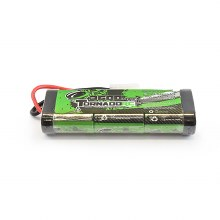3600 mAh 7.2V 6 Cell NiMh w/Tamiya Connector - 3600