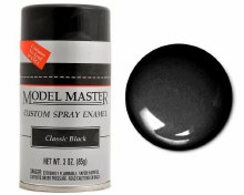Classic Black (G) Enamel Spray 85g - 2921
