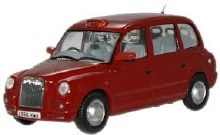 1:43 Scale TX4 Taxi Nightfire Red - TX4006
