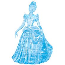3D Crystal Puzzle Cinderella - UNI31000