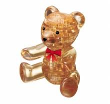 3D Crystal Puzzle Brown Teddy - VEN902140