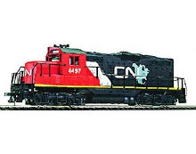 HO Gauge EMD GP9M Canadian National #4497 Standard DC - 931-104