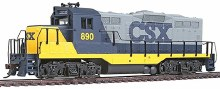 HO Gauge Trainline EMD GP9M CSX Transportation #890 Standard DC - 931-105