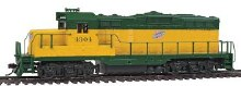 HO Gauge Trainline EMD GP9M Chicago & North Western #4304 Standard DC - 931-134