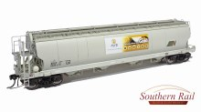 HO Gauge ATN Access XGAY Grain Hoppers 3 Pack - XGA04