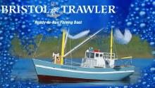 Bristol Trawler RTR Fishing Boat - AQUB5719
