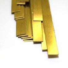 """Brass Rod .015 x 1/4 x 12"""" - KS8230"""