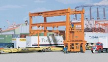 HO Gauge Mi Jack TL 1000 Crane Plastic Kit - 933-3122
