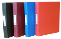 A4 RINGBINDER RED 2 RING