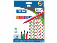 BOX 12 COLOURING MARKERS 610