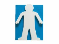 BOY CUT OUTS 180GM CARD 20 PK