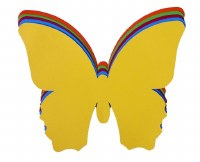 BUTTERFLY ASSORTED CARD 10PK