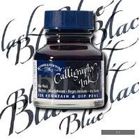 CALLIGRAPHY BLUE BLACK 30ML