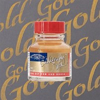 CALLIGRAPHY INK GOLD 30ML