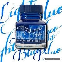 CALLIGRAPHY  INK LT. BLUE 30ML