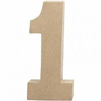 DECO NUMBER 1 H.24.5cm