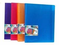 DISPLAY BOOK 40 POCKETS BLUE