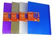 DISPLAY BOOK 40PKT CLEAR