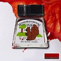 DRAWING INK BURNT SIENNA 14ML