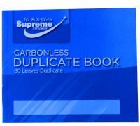 DUPLICATE BOOK 4 X 5 INCH