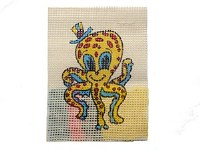 EMBROIDERY OCTOPUS