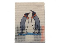 EMBROIDERY PENGUINS
