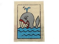 EMBROIDERY WHALE