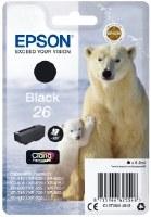 EPSON 26 C13 T2601 BLACK INK