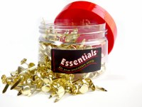 ESSENTIALS BRASS FASTNERS 20mm