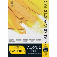 GALERIA ACRYLIC PAD A4 15SH