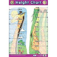 HEIGHT GIRAFFE WALL CHART