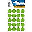 HERMA LABELS ROUND GREEN 19mm