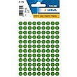 HERMA LABELS ROUND GREEN 08mm