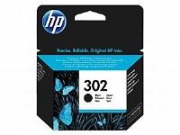 HP 302 F6U65AE BLACK INK